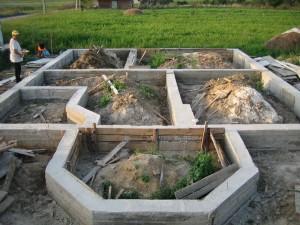 Фундамент для малого дома