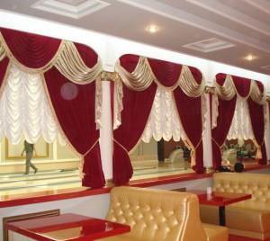 Как выбрать шторы для ресторана