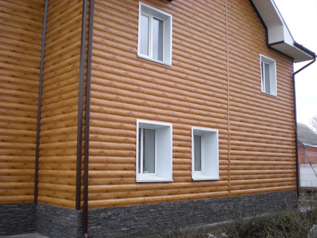 металлический блок хаус фото домов