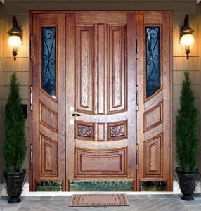 Надежная входная дверь для вашей дачи