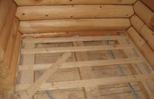 Черновые полы в деревянном доме