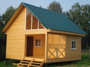 Преимущества сборных деревянных домов
