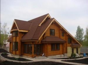 Строительство деревянных загородных домов