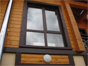 Какие окна лучше подойдут для деревянного дома